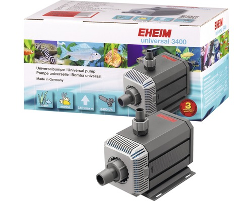 Pompe universelle EHEIM 3400 avec câble de 10 m 80 W