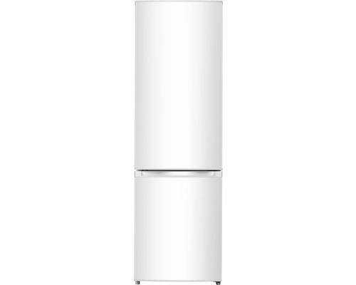 Réfrigérateur-congélateur PKM KG280W lxhxp 55.4 x 180 x 55.8 cm compartiment de réfrigération 198 l compartiment de congélation 71 l