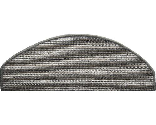 Marchette d''escalier Flatweave anthracite 28x65 cm