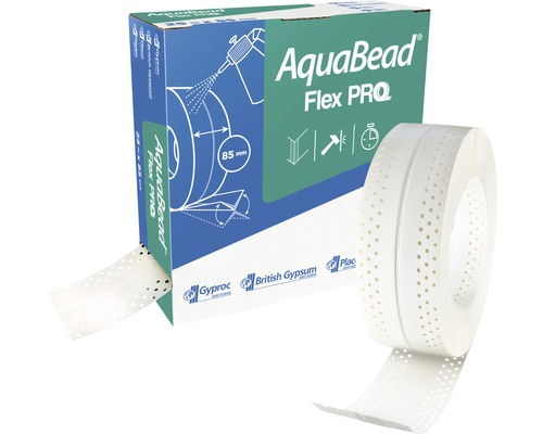 Protection des angles PVC AquaBead Flex Pro 25 m x 85 mm