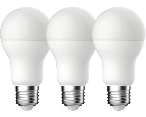 3 x ampoules LED A60 blanc E27/14W(100W) 1521 lm 2700 K blanc chaud 3 unités