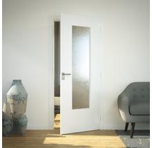 Vitrage de porte verre de sécurité LAG3 Chinchilla 41x142 cm-thumb-0