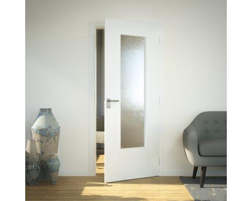 Vitrage de porte verre de sécurité LAG3 Chinchilla 41x142 cm-0