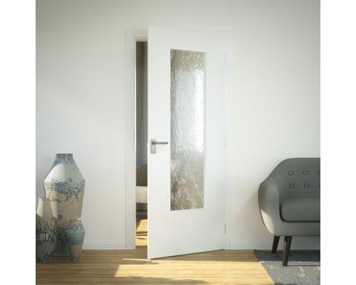 Vitrage de porte verre de sécurité LAG3 Barock 41x142 cm