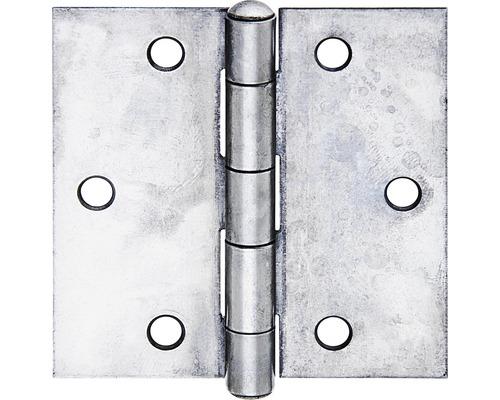 Charnière acier inoxydable 82x82x1 mm
