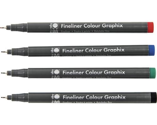 Marabu Fineliner Colour Graphix Skyline