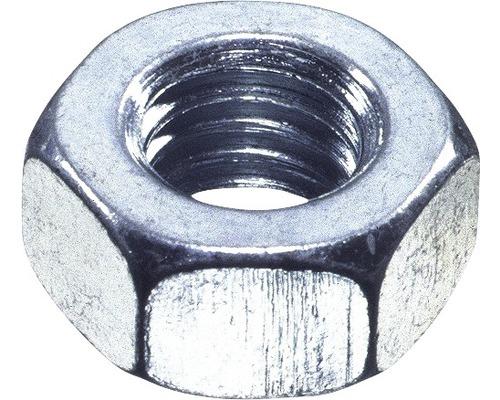 Écrou hexagonal DIN 934 M6mm aluminium, 100pièces