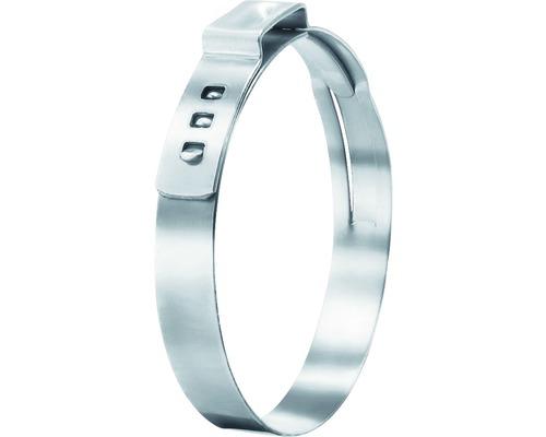 Pince à oreille en continu 11,5x14 mm acier inoxydable DIN 1.4301, 10 pièces-0