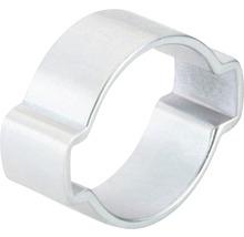 Pince à 2oreilles en continu 15x18 mm galvanisée zinguée, 100 pièces-thumb-0