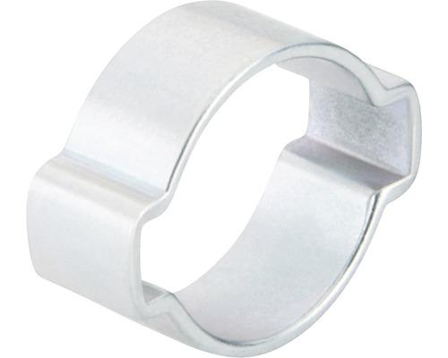 Pince à 2oreilles en continu 15x18 mm galvanisée zinguée, 100 pièces-0