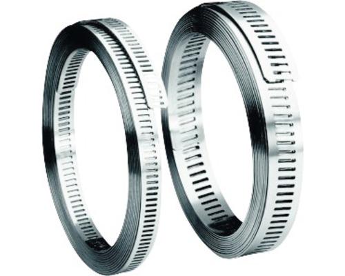 Bande sans fin 9x5 mm acier inoxydable
