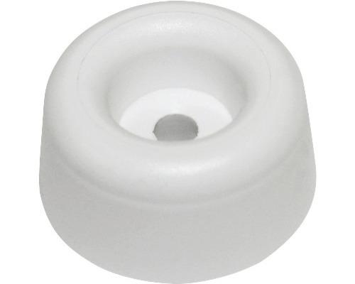 Tampon pour lunette de WC plastique noir 25pièces