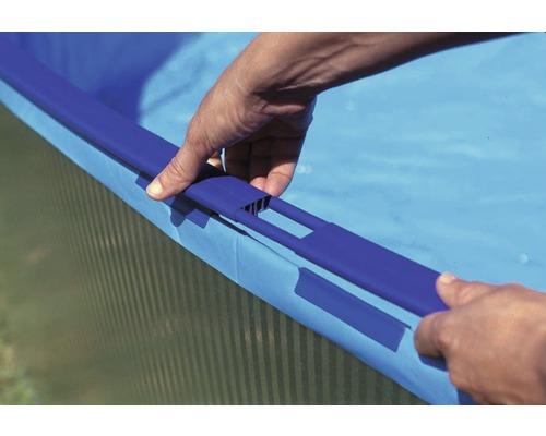 Rebord rail de sol pour piscines 4 50 m hornbach luxembourg for Bertrange piscine