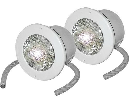 Ensemble de lampes encastables, 2 x 300 Watt