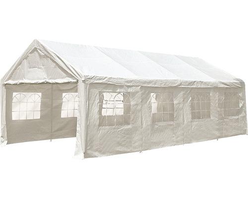 Tente de réception 3,95 x 7,95m polyéthylène blanche