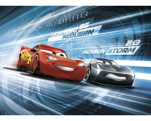 Papier peint photo papier Disney Cars 3 simulation 254x184 cm