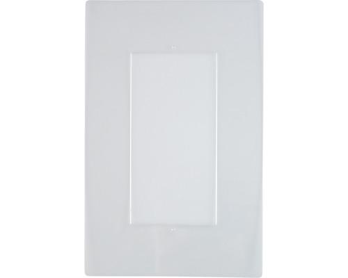 Protection de papiers peints 2 postes transparent carré 2 pièces
