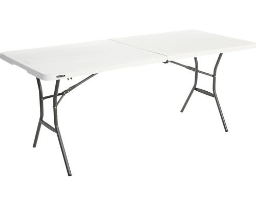 Table pliante Lifetime plastique 182x76cm