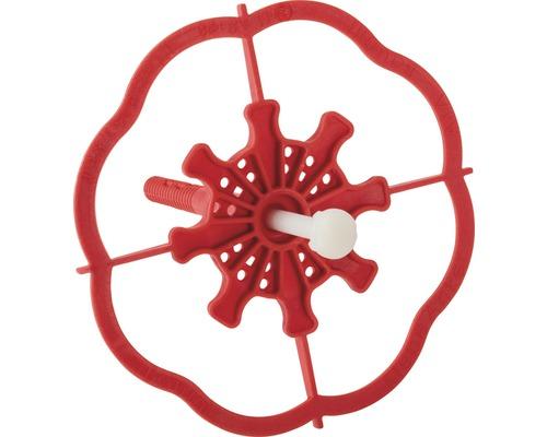 Ancre adhésive avec cheville pour isolants Baumit rouge 88 mm, lot de 100