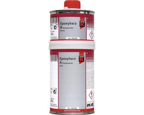 Résine epoxy 2 composants Auto-K 500g