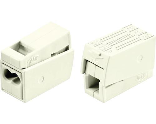 Borne pour luminaire Wago 224-112 0,5-2,5mm² 2conducteurs 100pièces blanc modèle standard