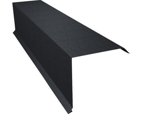 Angle d''arête PRECIT pour tuile métallique Big Stone graphite grey RAL 7024 2 m