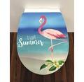 WC-Sitz Trento Flamingo mit Absenkautomatik