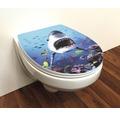 WC-Sitz Trento Hai 3D mit Absenkautomatik
