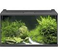 Aquarium EHEIM aquaproLED 126 avec éclairage à LED, filtre, chauffage, filtre, filet, thermomètre sans meuble bas, noir