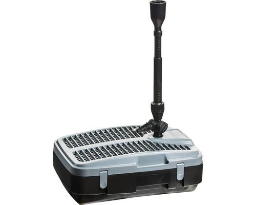 Set de filtre pour bassin Heissner avec jeu d''eau et UVC jusqu''à 5000 l
