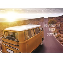 Carte postale Irgendwo ist immer Sommer! 10.5x14.8 cm-thumb-0