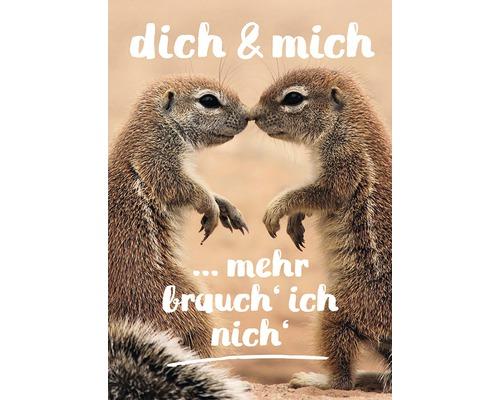 Carte postale Dich & Mich 14,8x10,5cm-0