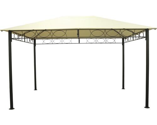 Pavillon à enficher 3x4x2.7 m polyester beige