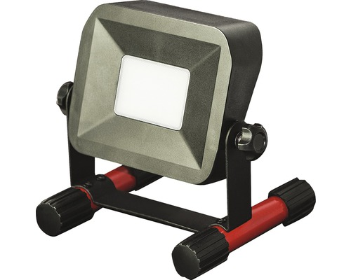Projecteur de chantier à LED sans fil IP54 portable 10W 750 lm 5000 K blanc neutre 158x164 mm