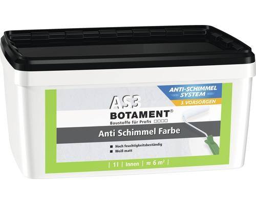 Peinture anti-moisissures BOTAMENT AS3 blanc 1 l