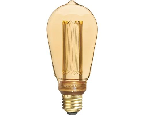 Ampoule LED ST64 E27/2,5W doré 125 lm 2000 K blanc chaud 820 Mirage