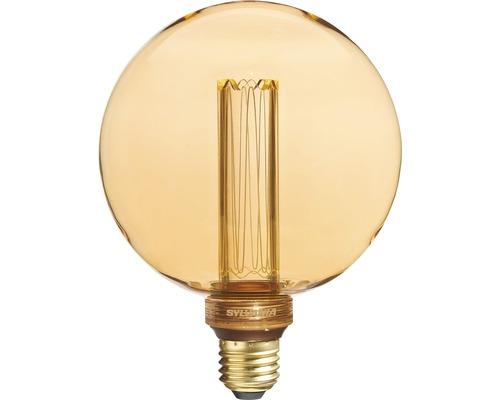 Ampoule globe LED G120 E27/2,5W doré 125 lm 2000 K blanc chaud 820 Mirage