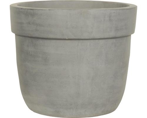Pot de fleurs Lafiora Big Pot Terracotta Ø 26 cm H 21 cm gris