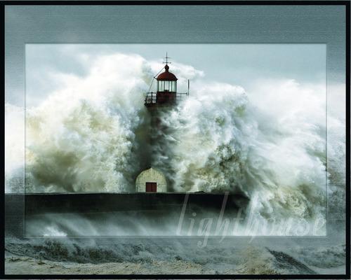 Poster Lighthouse 40x50 cm