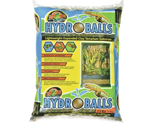 Bodengrund ZOO MED HydroBalls Expanded Clay Substrat 1,13 kg