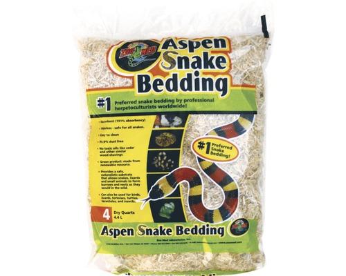 Bodengrund ZOO MED Aspen Snake Bedding 4,4 l