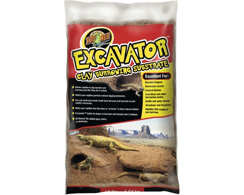 Bodengrund ZOO MED Excavator Clay Burrowing Substrate 4,5 kg