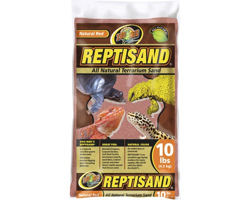 Quarzsand ZOO MED ReptiSand Natural Red 4,5 kg