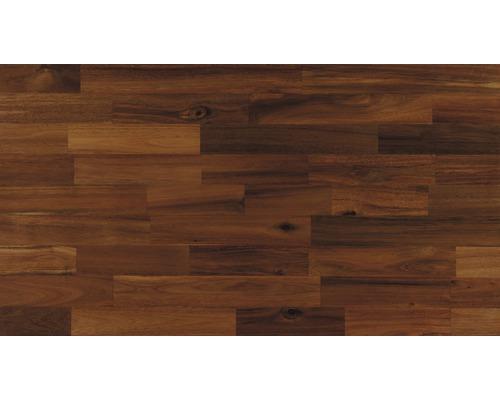 Panneau en bois lamellé-collé acacia B/C huilé 18x200x800 mm