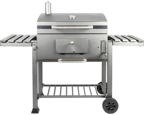 Barbecue au charbon de bois XXL Montreal, 154 x 65 x 127 cm, acier