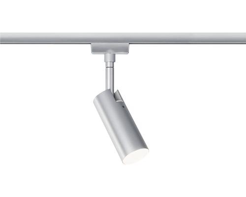 Spot LED URail Paulmann 1x5W 265 lm 3000 K blanc chaud Tubo chrome mat 230V