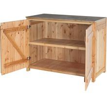Gartenschrank/Outdoorküche Sideboard 2 Türen Typ 543 120x58x92 cm Douglasie-thumb-1