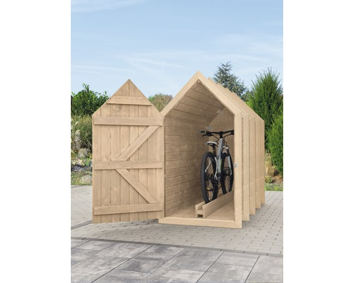 Garage à vélos type 550, simple gris