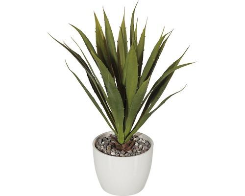 Plante artificielle agave plastique H38cm