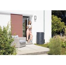 Cuve de collecte d''eau de pluie ARONDO 250 L gris graphite-thumb-3